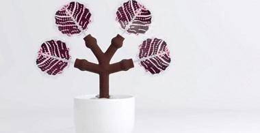 3D-Printed Solar Energy Trees