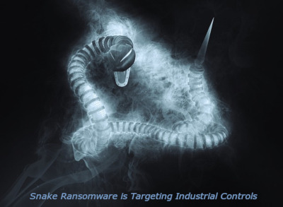 Snake Ransomware is Targeting Industrial Controls
