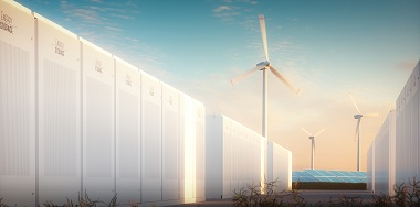Storage of Wind and Solar Energy